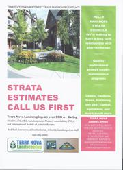 Strata, Commercial Contracts Wanted: grass, gardens,  KAS,  Kamloops,