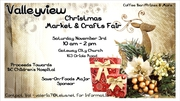 VALLEYVIEW CRAFT MARKET FUNDRAISER CHRISTMAS FAIR